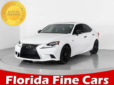 Used LEXUS IS 250 2015 WEST PALM F Sport Line Crafted