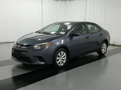 Used TOYOTA COROLLA 2015 WEST PALM Le
