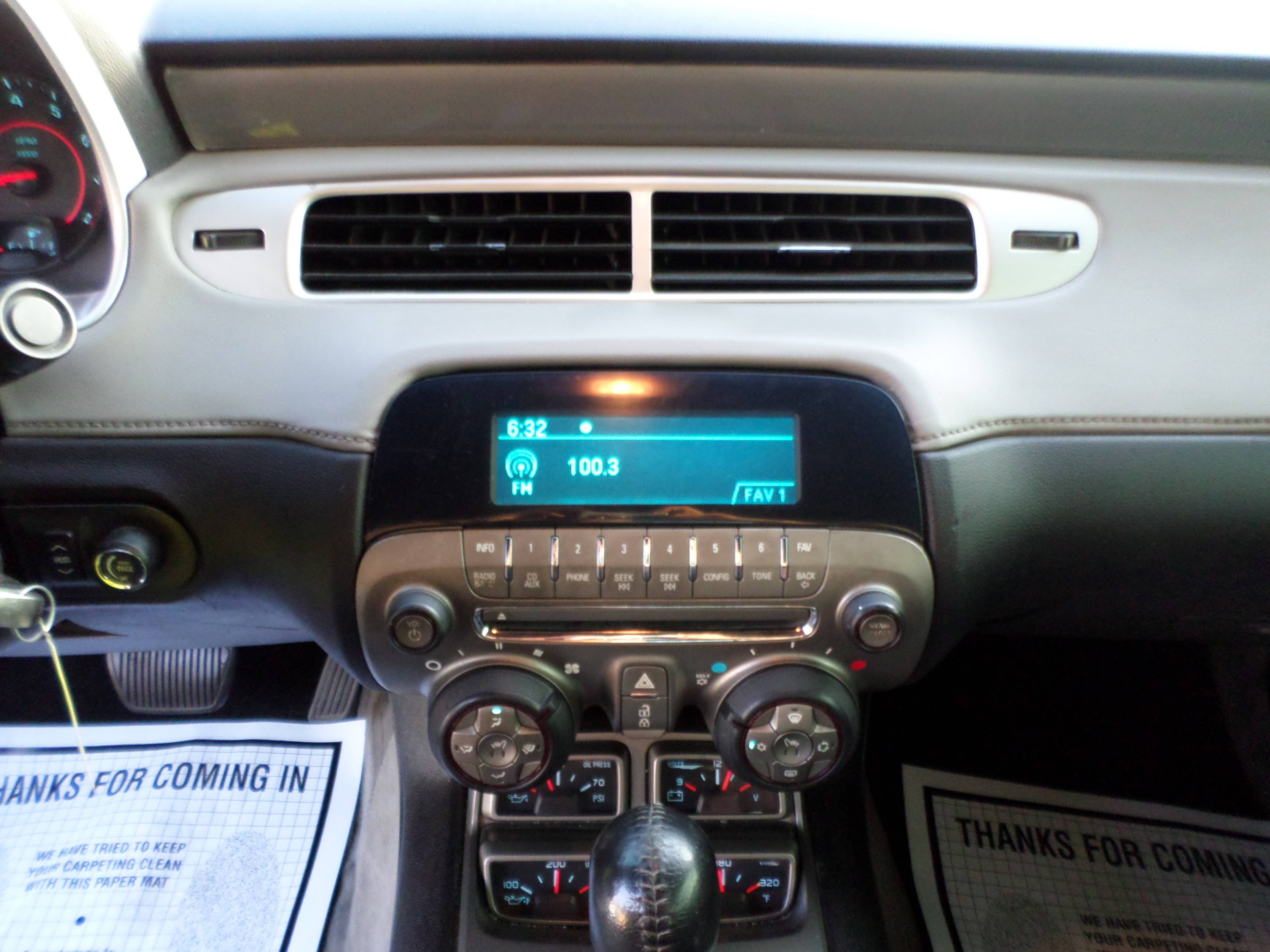 2012 Chevrolet Camaro, Convertible 2LT