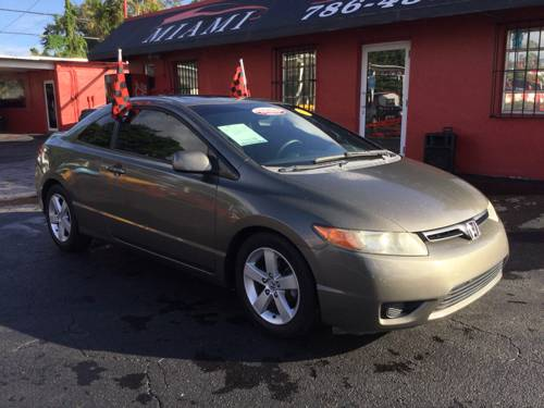 2008 HONDA CIVIC, EX-L COUPE AT