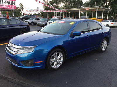Used FORD FUSION 2012 MIAMI SE