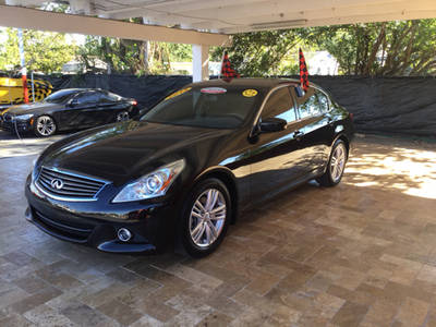 Used INFINITI G37 2013 MIAMI BASE; SPORT; JOURNEY