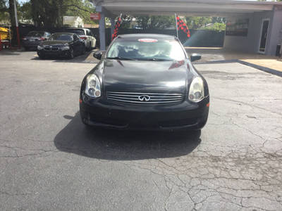 Used INFINITI G35 2006 MIAMI BASE