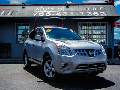 Used NISSAN ROGUE-SELECT 2014 MIAMI S