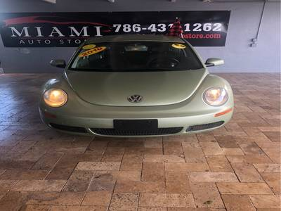 Used VOLKSWAGEN NEW-BEETLE 2010 MIAMI S