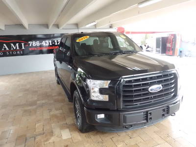 Used FORD F-150 2015 MIAMI Fx4