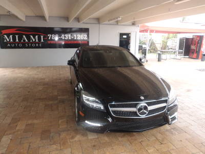 Used MERCEDES-BENZ CLS-CLASS 2012 MIAMI CLS550