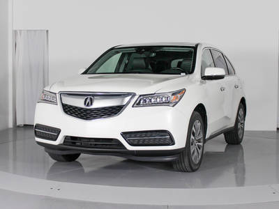 Used ACURA MDX 2016 MARGATE TECHNOLOGY PACKAGE