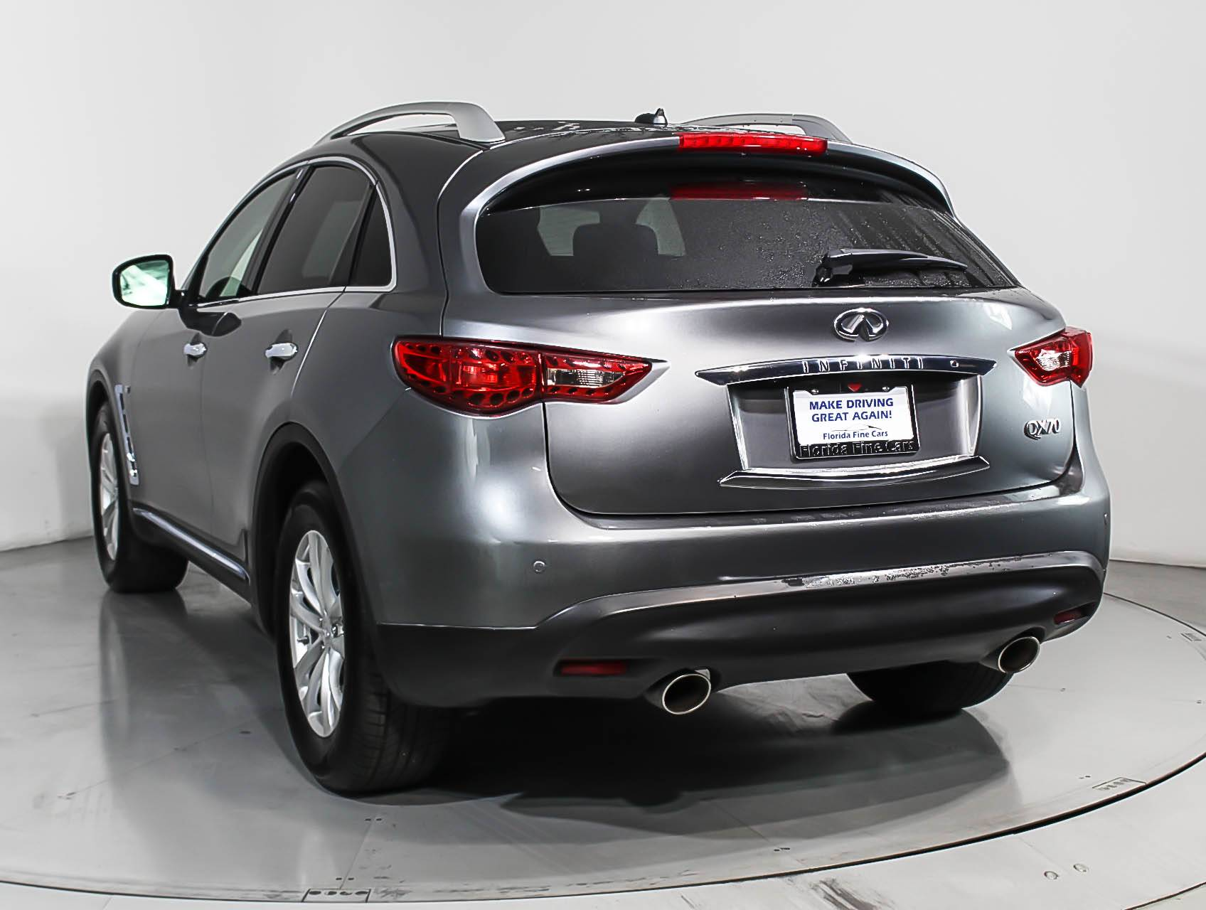 Used 2017 INFINITI QX70 SUV For Sale In MARGATE, FL