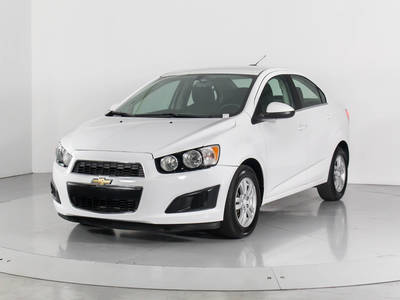 Used CHEVROLET SONIC 2016 WEST PALM LT