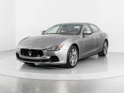 Used MASERATI GHIBLI 2015 WEST PALM