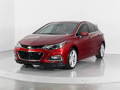 Used CHEVROLET CRUZE 2018 WEST PALM PREMIER