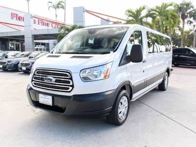 Used FORD TRANSIT-WAGON 2017 WEST PALM Xlt 15 Passenger