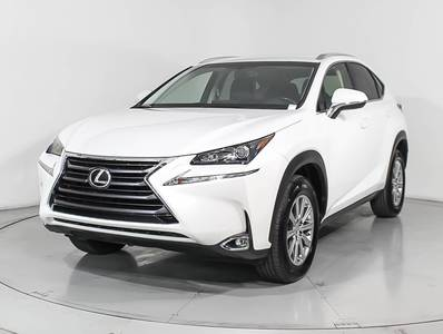 Used LEXUS NX-200T 2016 HOLLYWOOD