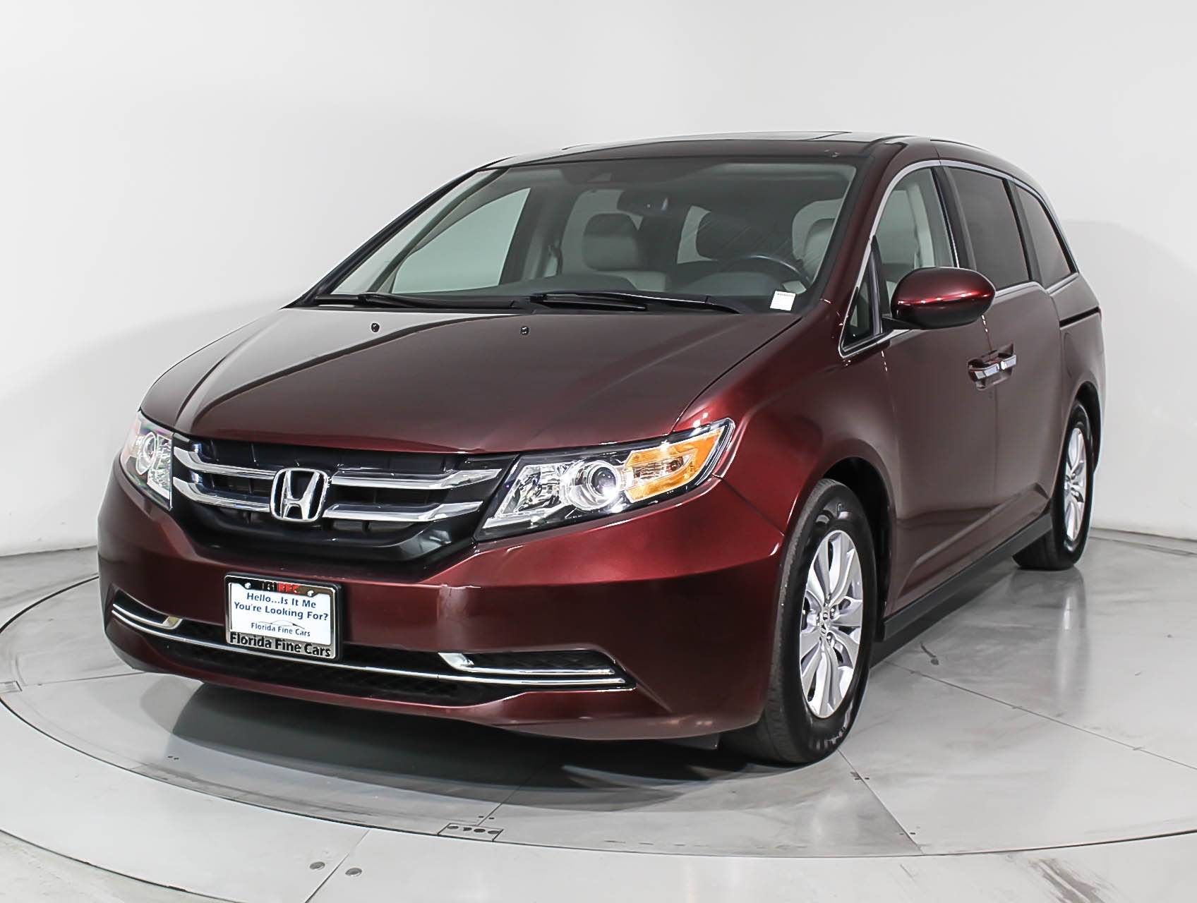 Used 2016 HONDA ODYSSEY EX-L Minivan for sale in HOLLYWOOD ...