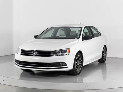 Used VOLKSWAGEN JETTA 2016 WEST PALM 1.8t Sport
