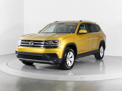 Used VOLKSWAGEN ATLAS 2018 WEST PALM S