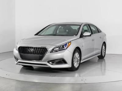 Used HYUNDAI SONATA-HYBRID 2016 WEST PALM Se