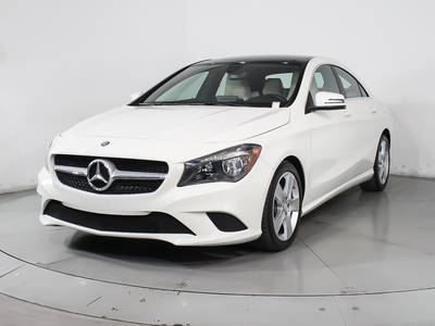 Used MERCEDES-BENZ CLA-CLASS 2015 HOLLYWOOD CLA250