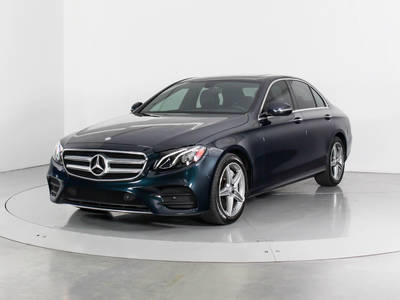 Used MERCEDES-BENZ E-CLASS 2017 WEST PALM E300 Sport