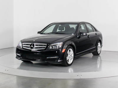 Used MERCEDES-BENZ C-CLASS 2011 WEST PALM C300