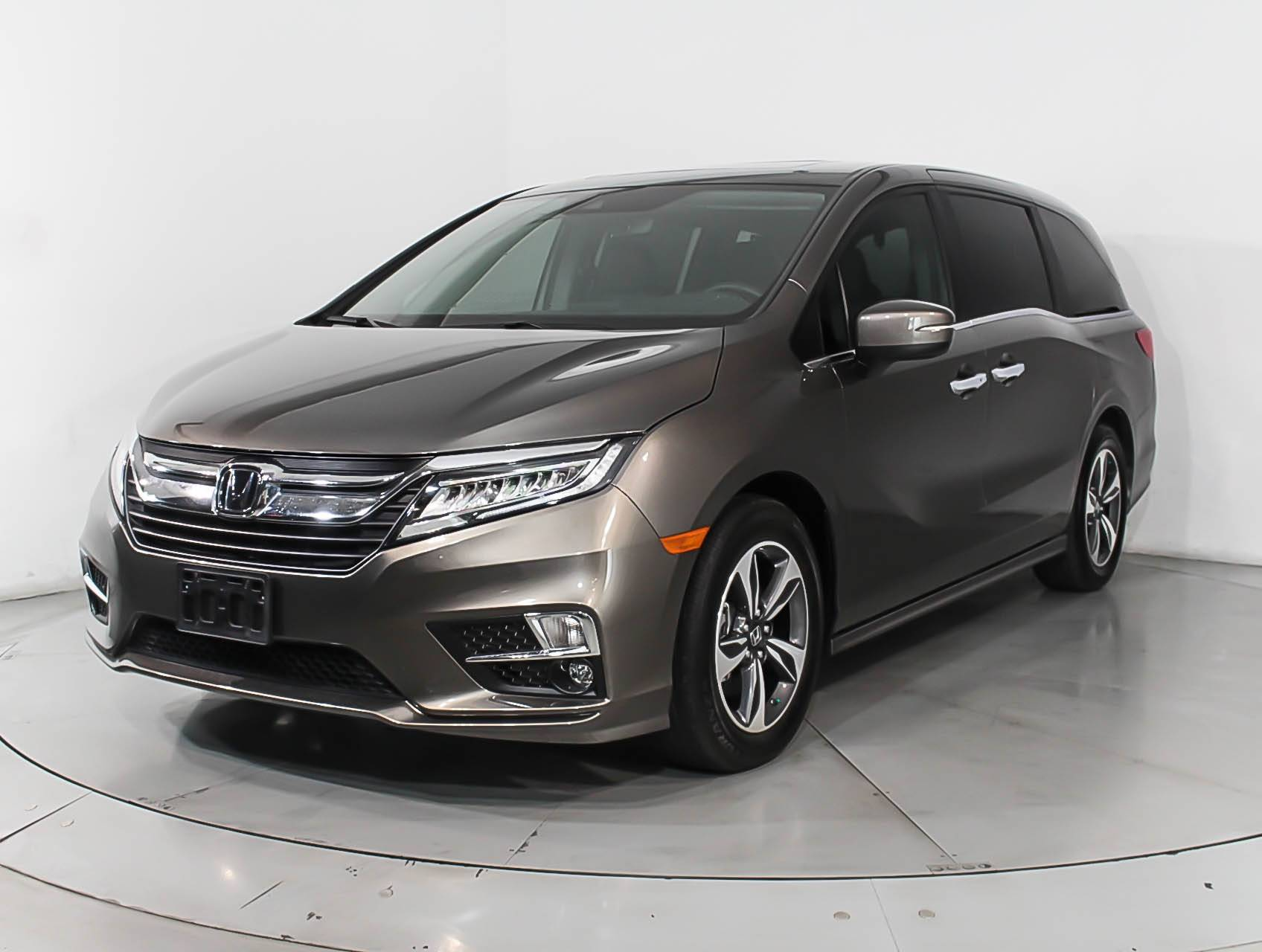 Used 2018 Honda Odyssey Touring Minivan For In Hollywood Fl 100865 Florida Fine Cars