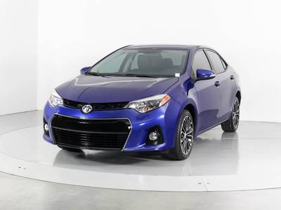 Used TOYOTA COROLLA 2016 WEST PALM S