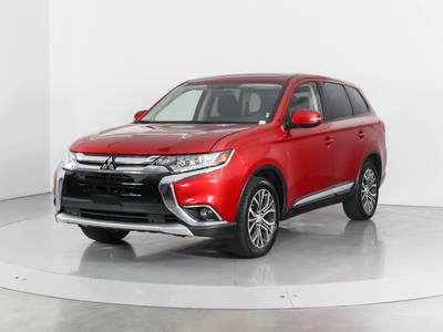 Used MITSUBISHI OUTLANDER 2017 WEST PALM SE