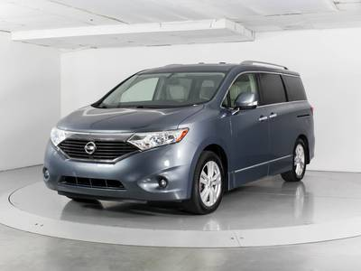 Used NISSAN QUEST 2012 WEST PALM Sl