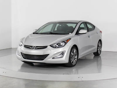 Used HYUNDAI ELANTRA 2016 WEST PALM Limited