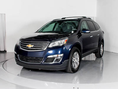 Used CHEVROLET TRAVERSE 2015 MARGATE 2LT