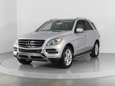 Used MERCEDES-BENZ M-CLASS 2015 WEST PALM ML350