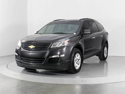 Used CHEVROLET TRAVERSE 2016 WEST PALM LS