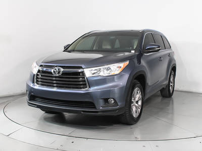 Used TOYOTA HIGHLANDER 2015 MIAMI Xle V6