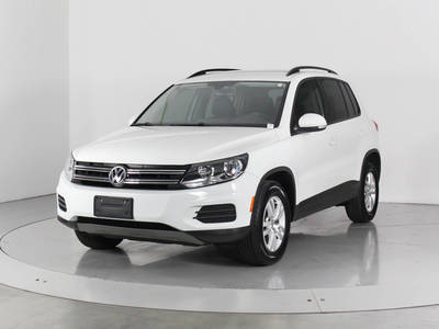 Used VOLKSWAGEN TIGUAN 2016 WEST PALM S 4motion