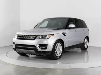 Used LAND-ROVER RANGE-ROVER-SPORT 2015 WEST PALM HSE