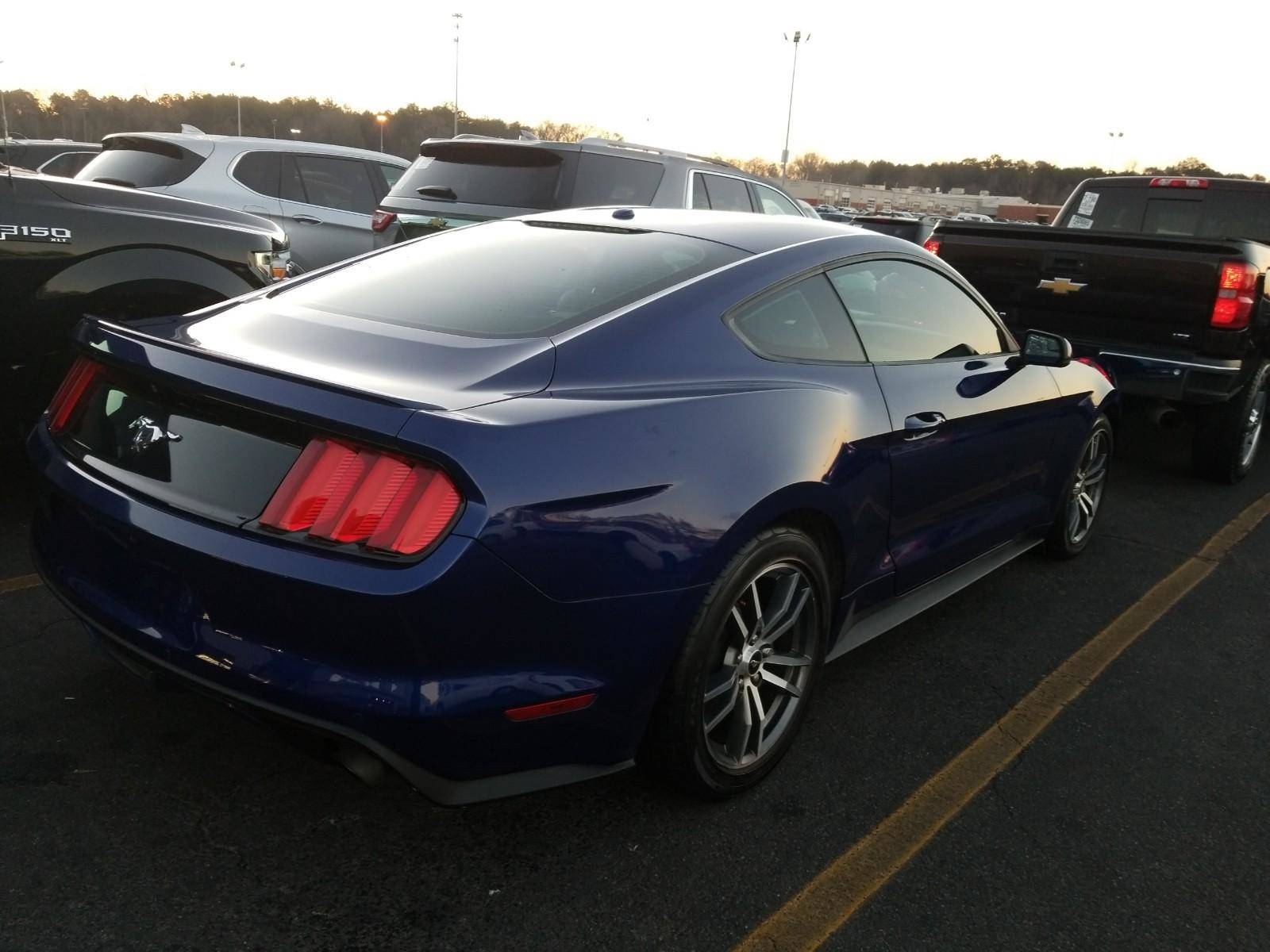 Used 2015 ford mustang ecoboost premium coupe for sale in miami fl