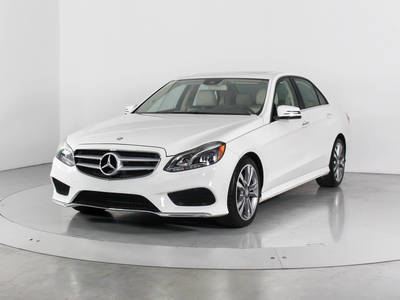 Used MERCEDES-BENZ E-CLASS 2016 WEST PALM E350