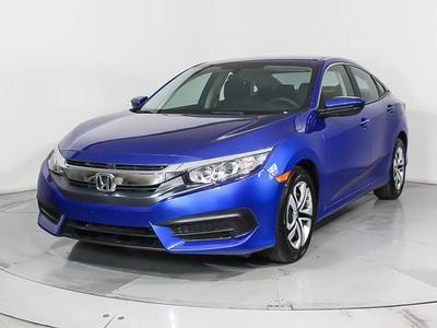 Used HONDA CIVIC 2016 WEST PALM LX