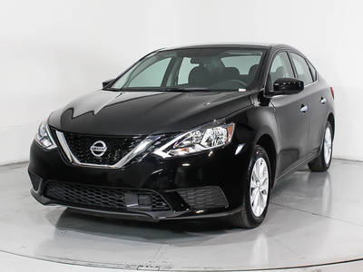 Used NISSAN SENTRA 2018 HOLLYWOOD Sv