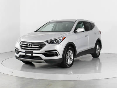 Used HYUNDAI SANTA-FE-SPORT 2017 WEST PALM Awd