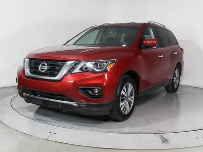Used NISSAN PATHFINDER 2017 MIAMI Sv