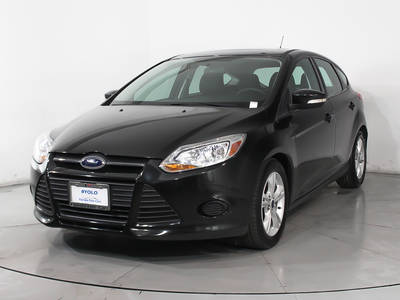 Used FORD FOCUS 2014 HOLLYWOOD SE
