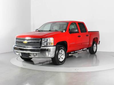 Used CHEVROLET SILVERADO 2012 WEST PALM Lt Crew Cab