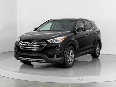 Used HYUNDAI SANTA-FE-SPORT 2013 WEST PALM