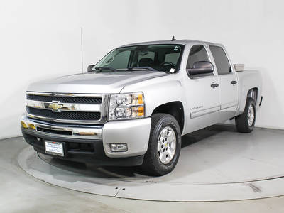 Used CHEVROLET SILVERADO 2011 HOLLYWOOD Lt Crew Cab