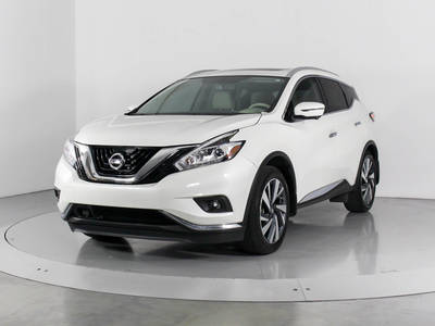 Used NISSAN MURANO 2017 WEST PALM Platinum