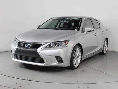 Used LEXUS CT-200H 2015 WEST PALM