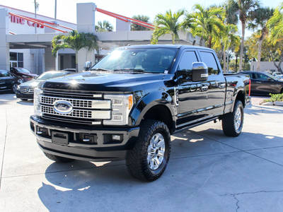 Used FORD F-250 2017 WEST PALM Platinum