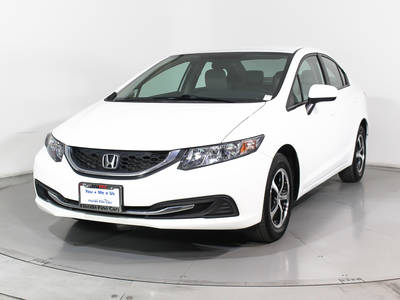 Used HONDA CIVIC 2015 HOLLYWOOD SE